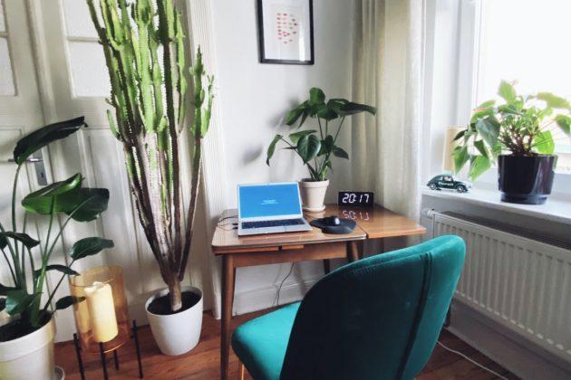 Wie man sich bei Home Office Arbeiten am besten